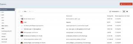 Überblick über Dateien