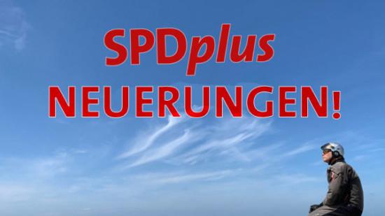 Neuerungen in SPDplus