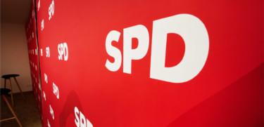Rückwand SPD im Kurt-Schumacher-Haus