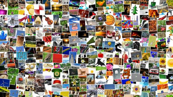 Collage mit Fotos