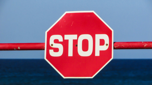 STOP-Zeichen