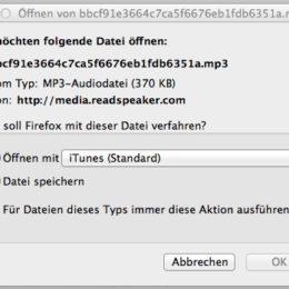 Grafisches Element: MP3-Datei herunterladen
