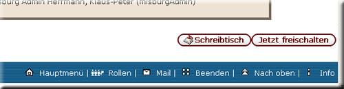 Screenshot Nach dem Klick auf Beendet