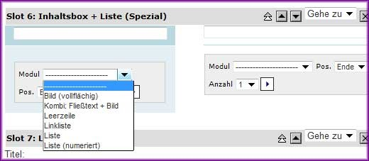 Screenshot Inhaltsbox + Liste (2)