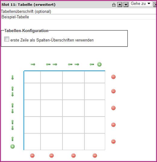 Screenshot Tabelle (erweitert) - 3